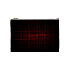 Black And Red Backgrounds Cosmetic Bag (medium) by Jojostore