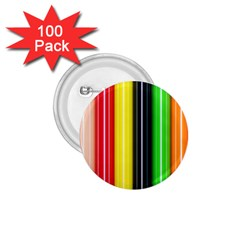 Colorful Striped Background Wallpaper Pattern 1 75  Buttons (100 Pack)