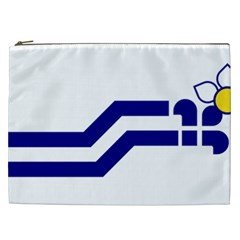 Flag Of The Franco Columbians Cosmetic Bag (xxl) by abbeyz71