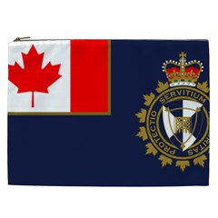 Flag Of Canada Border Services Agency Cosmetic Bag (xxl) by abbeyz71