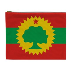 Flag Of Oromo Liberation Front Cosmetic Bag (xl) by abbeyz71
