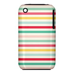 Papel De Envolver Hooray Circus Stripe Red Pink Dot Iphone 3s/3gs by Jojostore