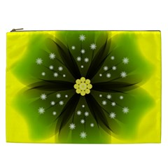 Christmas Flower Nature Plant Cosmetic Bag (xxl)