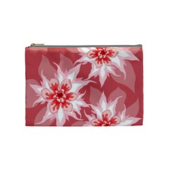 Flower Leaf Nature Flora Floral Cosmetic Bag (medium) by Sapixe