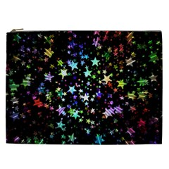 Christmas Star Gloss Lights Light Cosmetic Bag (xxl)