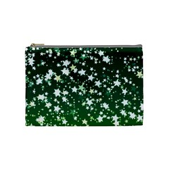 Christmas Star Advent Background Cosmetic Bag (medium)