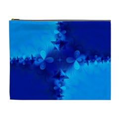 Background Course Gradient Blue Cosmetic Bag (xl)
