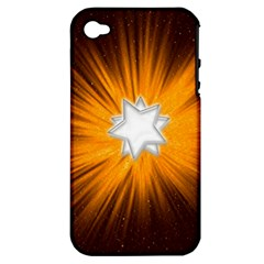 Star Universe Space Galaxy Cosmos Apple Iphone 4/4s Hardshell Case (pc+silicone)