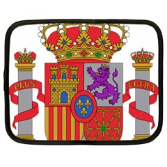 Coat Of Arms Of Spain Netbook Case (xl) by abbeyz71