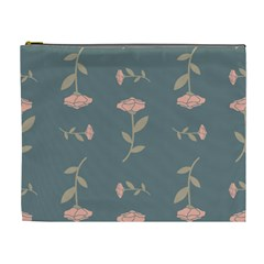 Florets Roses Rose Flowers Flower Cosmetic Bag (xl) by Sapixe