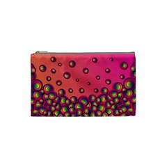 Wallpaper Background Funny Texture Cosmetic Bag (small)