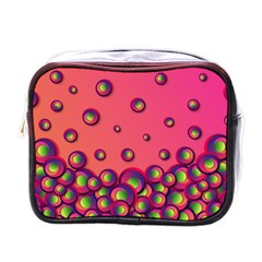Wallpaper Background Funny Texture Mini Toiletries Bag (one Side) by Sapixe