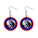 YIN YANG DRAGONS Art Design Tai Chi Earrings