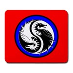 YIN YANG DRAGONS Art Design Tai Chi Mouse Pad