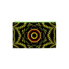 Mosaic Yellow Star Cosmetic Bag (xs) by Jojostore