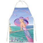 Palm Beach Purple Fine Art Sharon Tatem Fashion Apparel and Products Full Print Apron