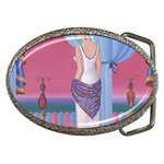 Palm Beach Perfume Art Collection Belt Buckle