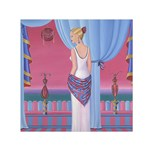 Palm Beach Perfume Art Collection Small Satin Scarf (Square)
