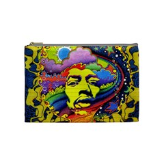 Jimi Hendrix Cosmetic Bag (medium)