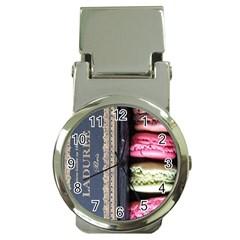 Laduree Macaron Paris Money Clip Watches