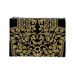 Hamsa Hand Cosmetic Bag (large) by Bejoart