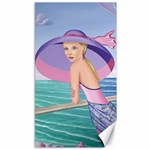 Palm Beach Purple, Fine Art Printed Product, Wearable art, Sharon Tatem Fashion,Apparel and Products Canvas 40  x 72