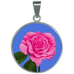 Roses Collections 30mm Round Necklace