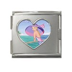 Watches Mega Link Heart Italian Charm (18mm)
