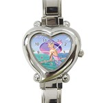 Watches Heart Italian Charm Watch