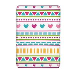 Geometry Line Shape Pattern Samsung Galaxy Tab 2 (10 1 ) P5100 Hardshell Case