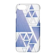 Triangle Geometry Apple Iphone 8 Hardshell Case