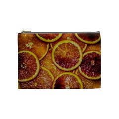 Blood Orange Fruit Citrus Fruits Cosmetic Bag (medium) by Wegoenart