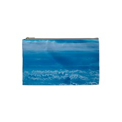 Cloudy Sky Cosmetic Bag (small) by TimelessFashion