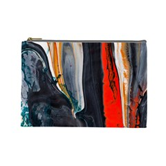 Art Modern Painting Background Cosmetic Bag (large)