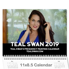 Teal Swan Frequency Painting Calendar 2019   Wall Calendar 11 X 8 5 (12 Months) by tealswan