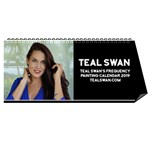 Teal Swan Frequency Painting Calendar 2019 - Desktop Calendar 11  x 5