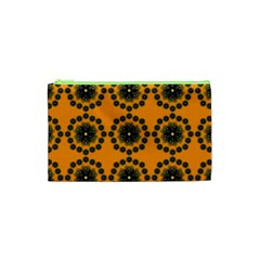 Abstract Template Flower Cosmetic Bag (xs)