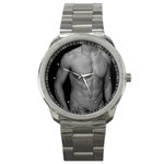 MALE MODEL Gay Interest Nude Men Art Boys Sport Metal Watch
