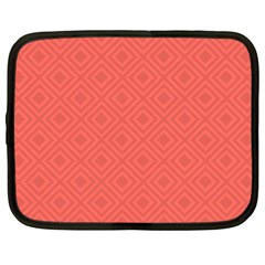 Simple Squares Netbook Case (xl) by TimelessFashion