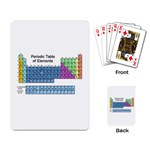 PERIODIC TABLE ELEMENTS Science Chemistry Playing Card
