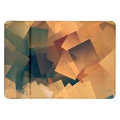 Background Triangle Samsung Galaxy Tab 8 9  P7300 Flip Case by Alisyart