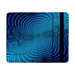 Background Brush Particles Wave Samsung Galaxy Tab Pro 8 4  Flip Case by AnjaniArt