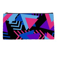 Memphis Pattern Geometric Abstract Pencil Cases by Pakrebo