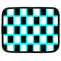 Squares Pattern Netbook Case (xl) by AnjaniArt