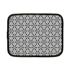 Ornamental Checkerboard Netbook Case (small) by Mariart
