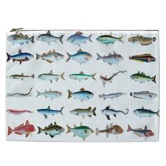 Ml 6 6 Fish Cosmetic Bag (xxl)