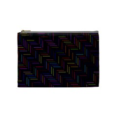 Lines Line Background Cosmetic Bag (medium)