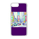 Time Square  Apple iPhone 7 Plus Seamless Case (White)