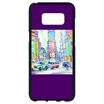 Time Square  Samsung Galaxy S8 Black Seamless Case