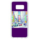 Time Square  Samsung Galaxy S8 White Seamless Case